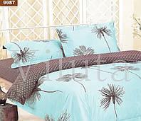 9987 Двуспальное постельное белье ранфорс Viluta