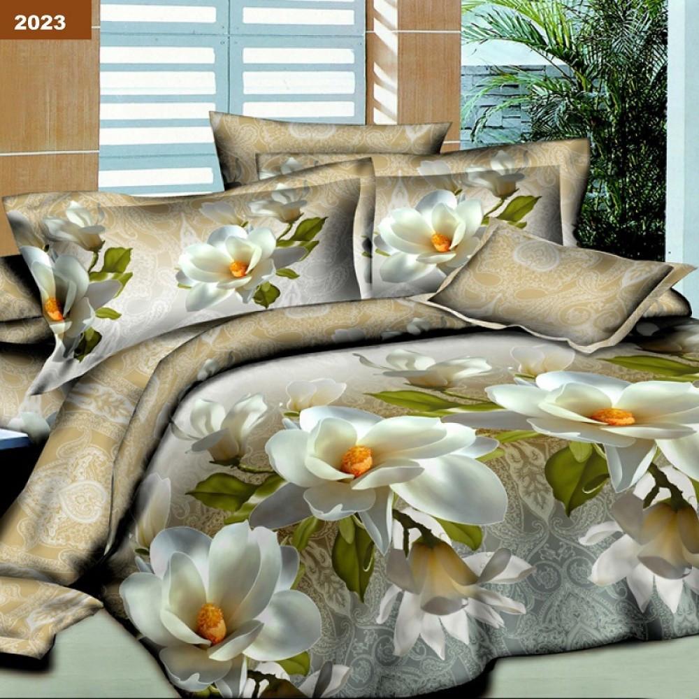 2023 Двуспальное постельное белье ранфорс Платинум Viluta