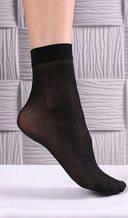 Черные капроновые носки - плотность 40 den