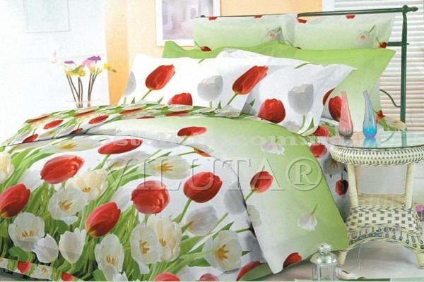 9818 Семейное постельное белье ранфорс Viluta