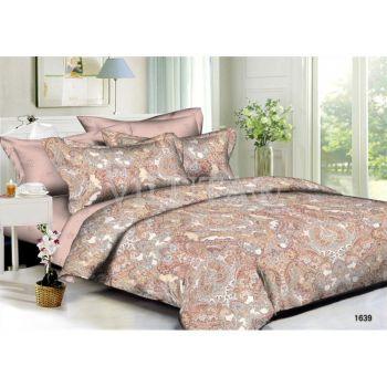 1639 Двуспальное постельное белье Поплин Viluta