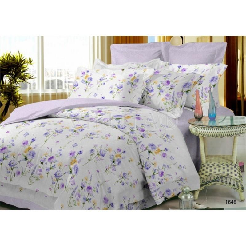 1646 Двуспальное постельное белье Поплин Viluta