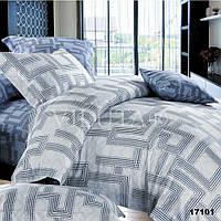 17101 Двуспальное постельное белье ранфорс Viluta