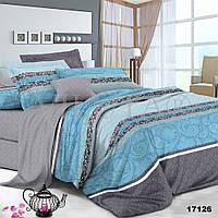 17126 Двуспальное постельное белье ранфорс Viluta