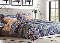 17107 Двуспальное постельное белье ранфорс Viluta