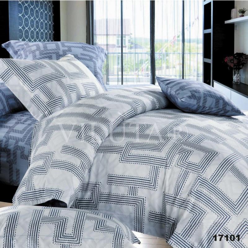 17101 Полуторное постельное белье ранфорс Viluta