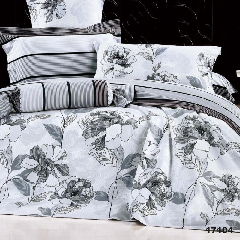 17104 Полуторное постельное белье ранфорс Viluta