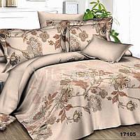 17105 Двуспальное постельное белье ранфорс Viluta