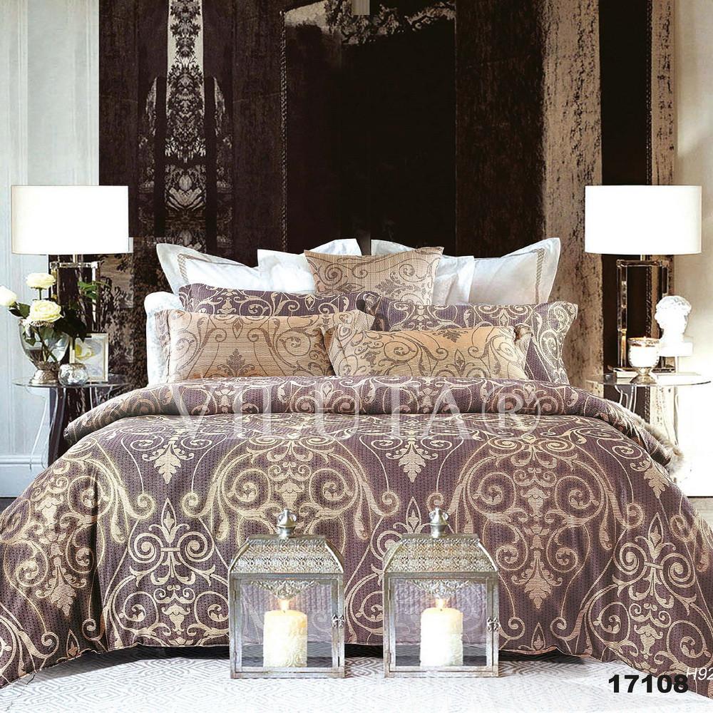 17108 Семейное постельное белье ранфорс Viluta