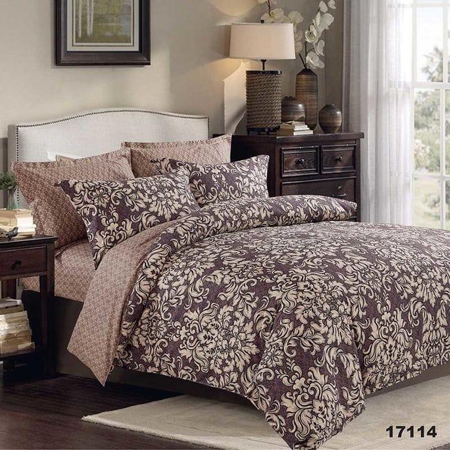 17114 Семейное постельное белье ранфорс Viluta