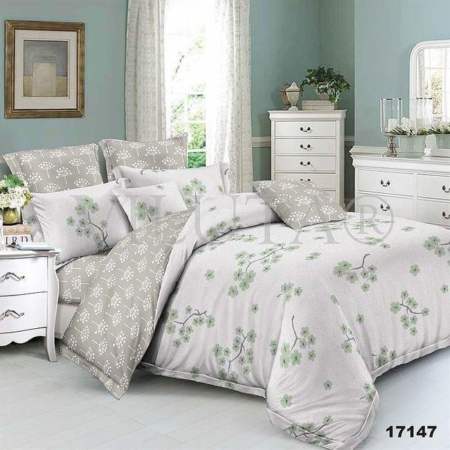 17147 Двуспальное постельное белье ранфорс Viluta