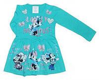 """Детское платье для девочек с коллекции """"Микки"""" 1-2, 2-3, 3-4 года"""