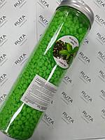Christian Воск пленочный в гранулах для горячей эпиляции Зеленый чай (400г) банка
