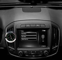Автомобильные кварцевые часы в воздуховод или на 3М скотч