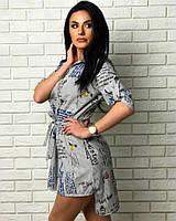 Женская рубашка на пуговицах коттон 42-52р., фото 1