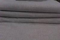 Простыня 145х210 для сауны 100% лен оршанский серый