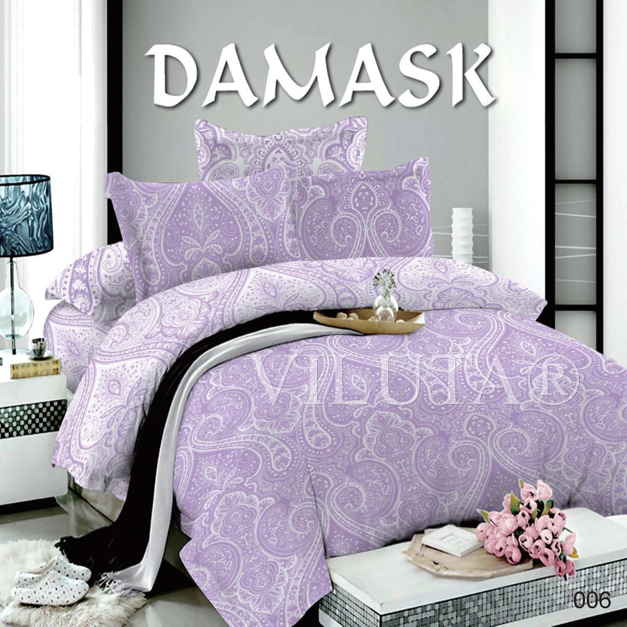 006 Семейное постельное белье DAMASK Поплин Viluta