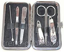 Маникюрный набор, 6 предметов, черный