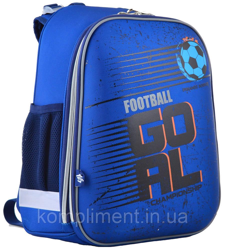Ранець шкільний жорстко-каркасний для хлопчика H-12 Football, 38*29*15 , YES