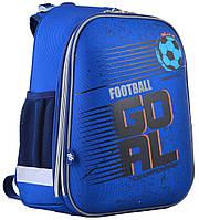 Ранець шкільний жорстко-каркасний для хлопчика H-12 Football, 38*29*15 , YES, фото 1