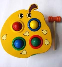 Деревяная игра с молоточком, фото 2