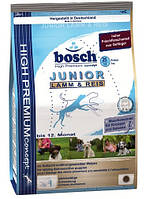 Корм Bosch (Бош)  Junior Lamb & Rice  для собак Ягненок с Рисом 15 кг