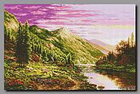 Схема для вишивки бісером Альпійський луг
