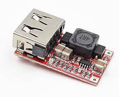 Авто USB зарядний пристрій DC-DC вхід 6-24 V, вихід 5V3A