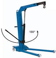 Гаражный низкопрофильный складной кран 1000 кг W108SE/LPG WERTHER (Италия)