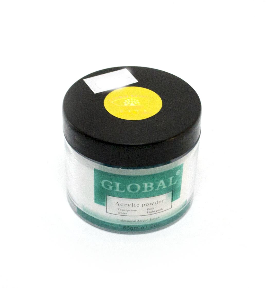 Акриловая пудра для укрепления и моделирования ногтей GLOBAL