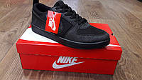 Кроссовки мужские кеды Nike NB полностью черные (копия)