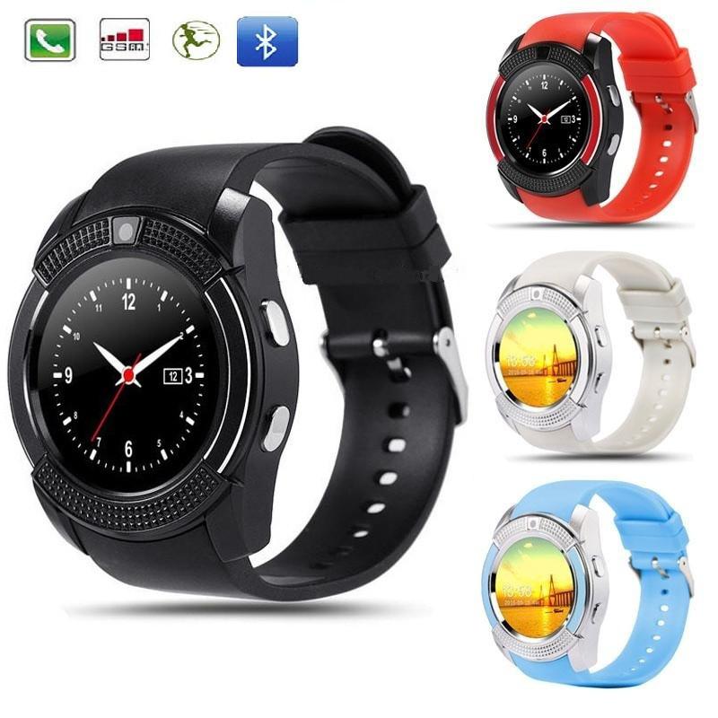 Смарт-часы Smart Watch V8, часы смарт вач V8, электронные умные часы, смарт часы Акция!, реплика, отличное качество