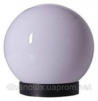 """Світильник вуличний """"Куля"""" STR-09 M150x95 PMMA BALL + BASE IP44"""