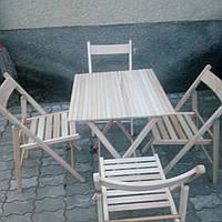 Стол и стулья для пикника.