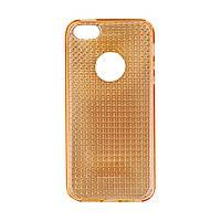 Чехол-панель для iPhone  силикон  Gold