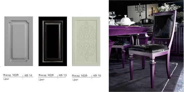 Мебельные фасады МДФ крашеные