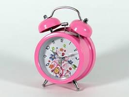 Оригинальнейший всегда модный популярный будильник 12,5 см Классический звонок не дадут проспать Код: КГ4407