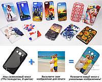 Печать на чехле для Samsung s5690 Galaxy Xcover (Cиликон/TPU)