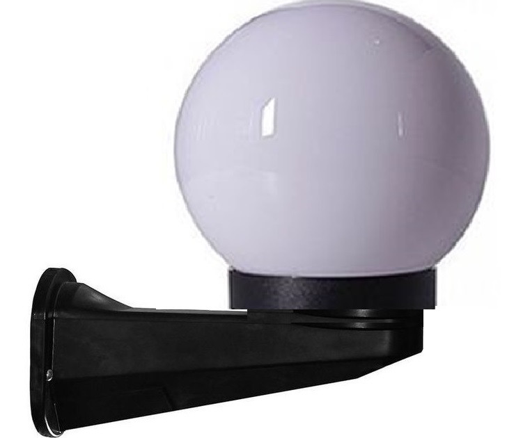 Светильник парковый Бра  NF2803  и шар D150мм опал   с адаптером  Е27 IP44