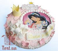 Детский торт на заказ в Киеве Бал принцесс