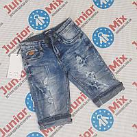 Подростковые джинсовые бриджи для мальчиков оптом BIMBO STYLE