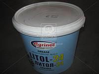 Смазка Литол-24 Агринол Ведро 5л/4,5кг Литол - 24