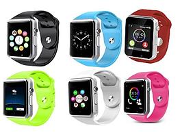 Умные часы Smart watch A1, часы смарт вач А1, электронные смарт часы, смарт часы Акция!, реплика, отличное качество!