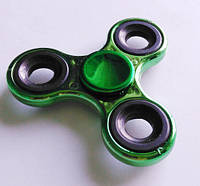 Спиннер / вертушка - антистресс металлический зеленый