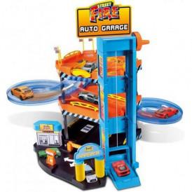 Игровой набор -  ПАРКИНГ (3 уровня, 2 машинки 1:43) от Bburago - под з