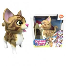 Интерактивная кошечка CUTESY PETS - ДЕЙЗИ (размер 15см) от Cutesy Pets