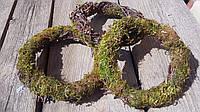 Венок из мха и березовых прутьев ( d=16 см) 25, фото 1