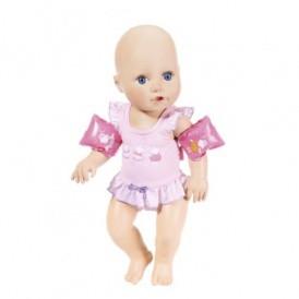 Интерактивная кукла BABY ANNABELL - НАУЧИ МЕНЯ ПЛАВАТЬ (43 см, с аксес