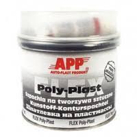 Шпаклівка з алюмінієвою пудрою APP ALU POLY-PLAST 0,6 кг