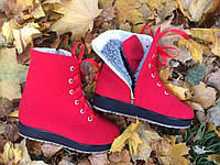Ботинки  зимние из кашемира